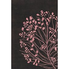 Dharma Brown/Pink Area Rug