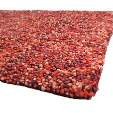 Gems Red/Orange Area Rug