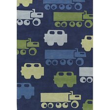<strong>Chandra Rugs</strong> Kids Car Kids Rug