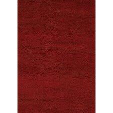 Strata Dark Red Area Rug