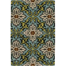 <strong>Chandra Rugs</strong> Amy Butler Multicolored Floral Rug