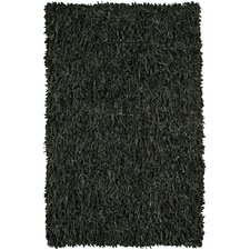 Art Black Area Rug
