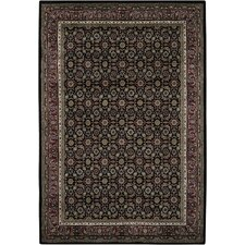Arumai Black Area Rug