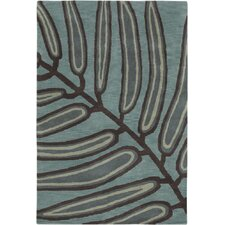 Aschera Blue/Black Area Rug