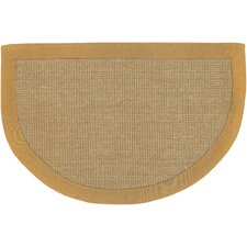 Half Moon Brown/Tan Area Rug