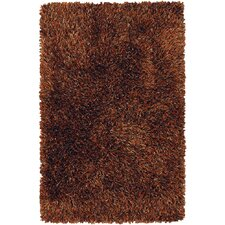 <strong>Chandra Rugs</strong> Iris Dark Brown Rug