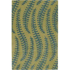 Rowe Green/Blue Area Rug
