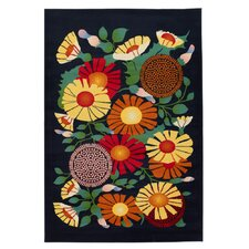 <strong>Chandra Rugs</strong> Dersh Flower Novelty Rug
