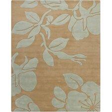 Hanu Floral Light Grey/Beige Floral Area Rug