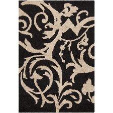 INT Black/Ivory Area Rug