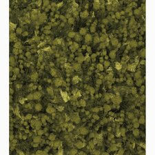 Riza Green Solid Area Rug