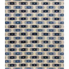 Rowe Blue/White Area Rug