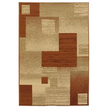 Ryan Floral Brown/Tan Indoor/Outdoor Area Rug