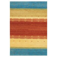 Chelsea Red / Yellow Area Rug