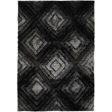 Flemish Shag Charcoal Area Rug
