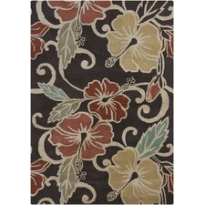 <strong>Chandra Rugs</strong> Gagan Dark Brown Rug