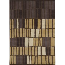 <strong>Chandra Rugs</strong> Gagan Brown/Tan Rug