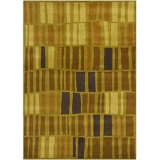 <strong>Chandra Rugs</strong> Gagan Brown/Green Rug