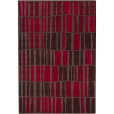 <strong>Chandra Rugs</strong> Gagan Red Rug