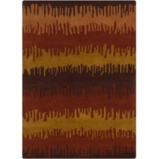 <strong>Chandra Rugs</strong> Gagan Rust Rug