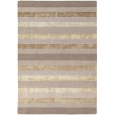 Gardenia Light Grey Stripes Area Rug