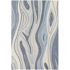 <strong>Chandra Rugs</strong> Inhabit Designer Blue Rug
