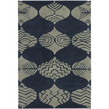 Parson Gray Designer Blue/Ivory Rug