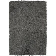 <strong>Chandra Rugs</strong> Poligan Shag Grey Rug