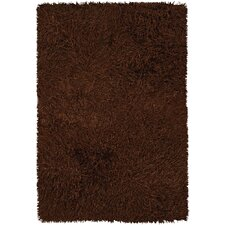 <strong>Chandra Rugs</strong> Poligan Shag Rust Rug