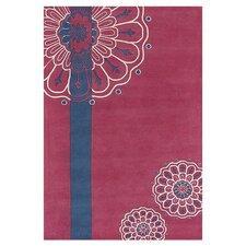 Dharma Pink/Blue Area Rug