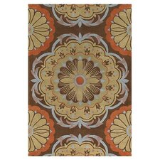 Dharma Brown/Orange Area Rug