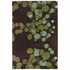 Avalisa Green/Brown Area Rug