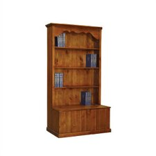 Alpine Storage Bookcase in Nutmeg