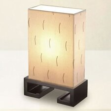 Dee Why Table Lamps with Integrated Patterned Shade