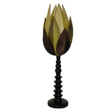Artichoke Table Lamp in Multi Green