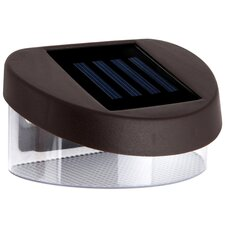 LED Ultra Bright Outdoor Garden Solar Fence Lights (Set of 4)