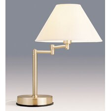 Zoe Touch Lamp in Antique Brass