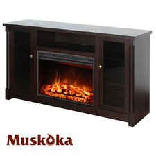 "Coventry 57"" TV Stand with Electric Fireplace"