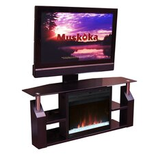 "Domus 53"" TV Stand with Electric Fireplace"