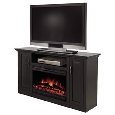 "Clayton 51"" TV Stand with Electric Fireplace"