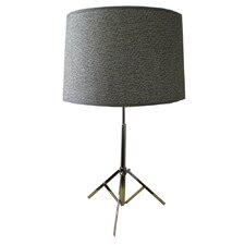 Studio Tripod Table Lamp in Stainless Steel