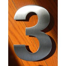 "6"" Fuller House Number"