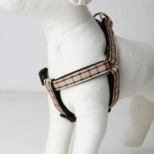 <strong>Lola and Foxy</strong> English Plaid Dog Harness