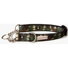 <strong>Lola and Foxy</strong> Camo Martingale Dog Collar