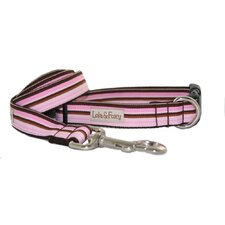 Darla Pink and Brown Dog Collar