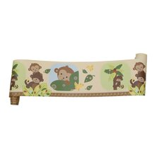 <strong>Bedtime Originals</strong> Curly Tails Wallpaper Border