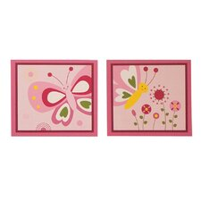 <strong>Bedtime Originals</strong> Pink Butterfly Wall Decal