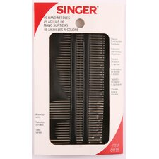 <strong>Singer</strong> Assorted Hand Needles (45 Count)