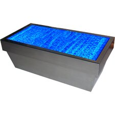Contemporary Bubbling Water Feature Coffee Table