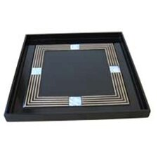 Mother Of Pearl Black Tray